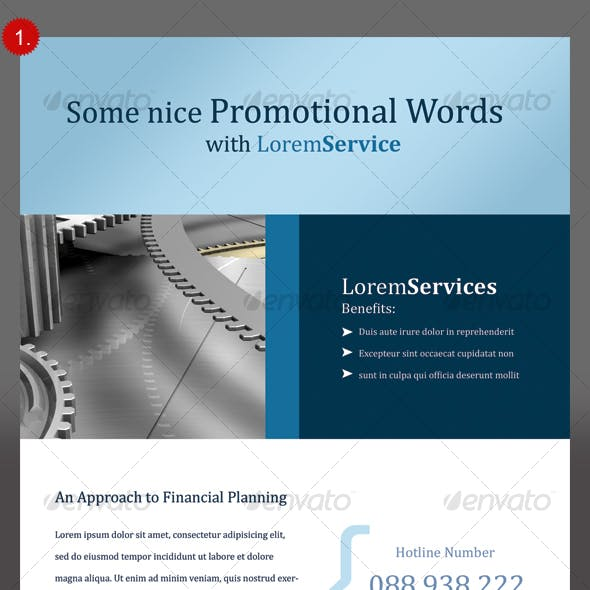 Clean Corporate Flyers