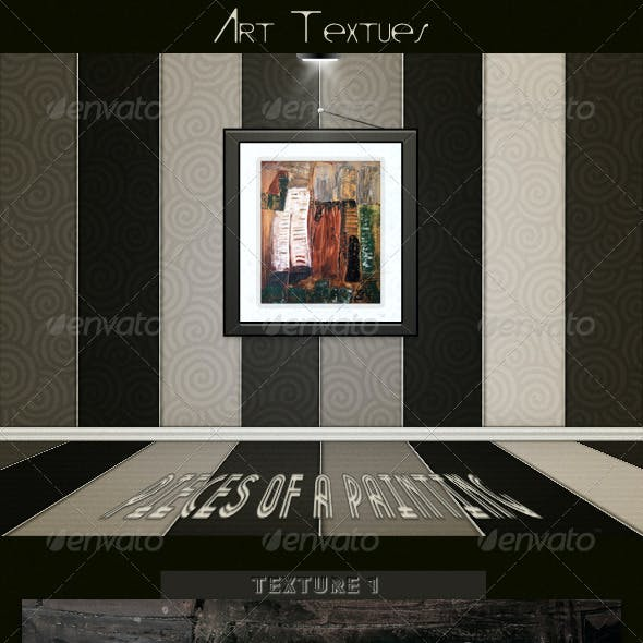 Art Textures - Pieces of a Painting