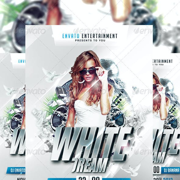 White Dream Flyer
