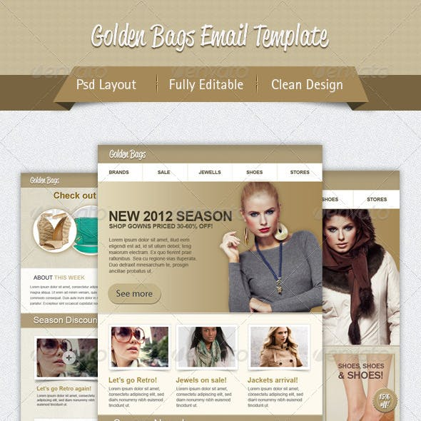 Fashion Shopping Email Template