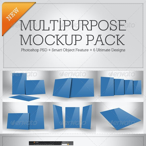 Multipurpose Mockup Pack 1