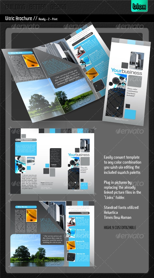 Vitric Brochure - Corporate Brochures