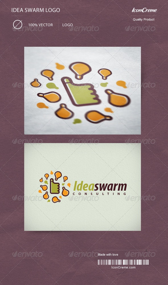 Idea Swarm Logo - Objects Logo Templates