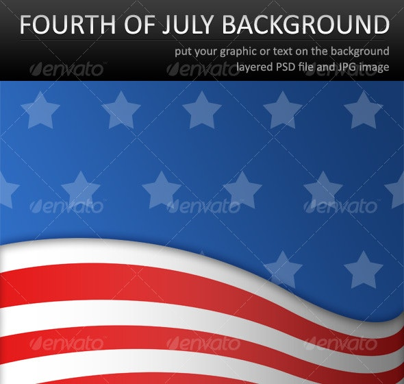 Fourth of July Background - Backgrounds Graphics