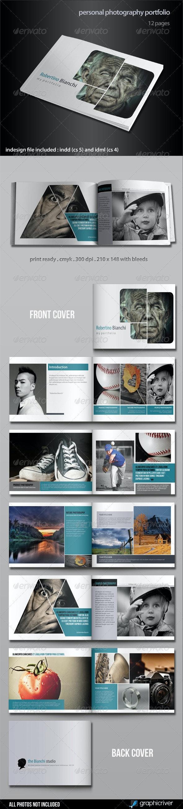 Personal Photography Portfolio - Portfolio Brochures