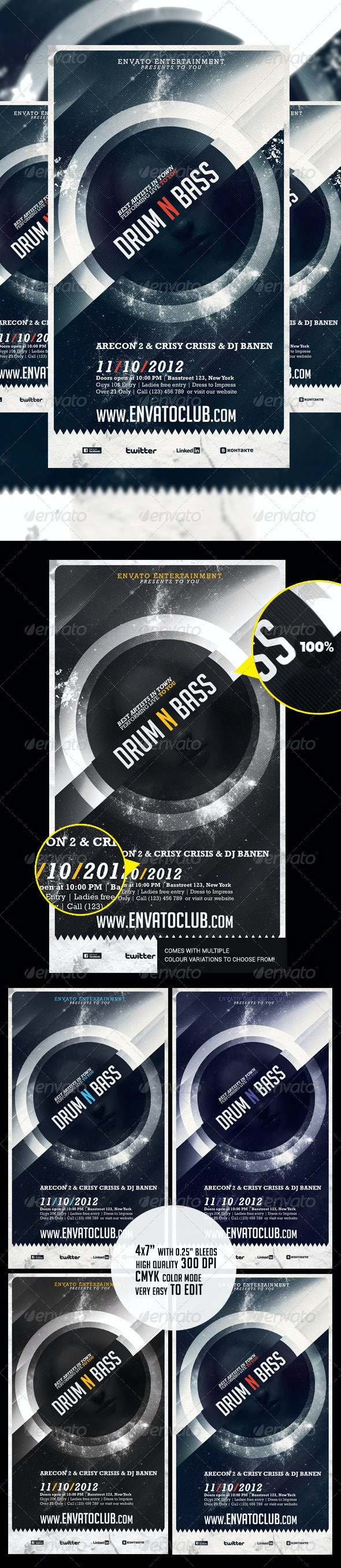 Alternative Flyer  - Clubs & Parties Events