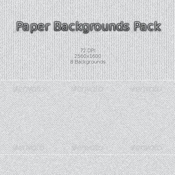 Light Paper Backgrounds Pack