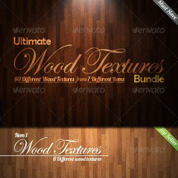 Ultimate Wood Textures Bundle