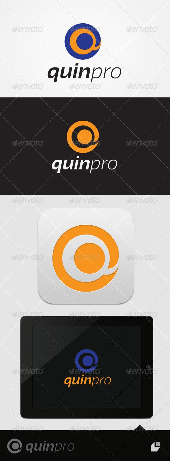 Quin Pro Logo - Letters Logo Templates