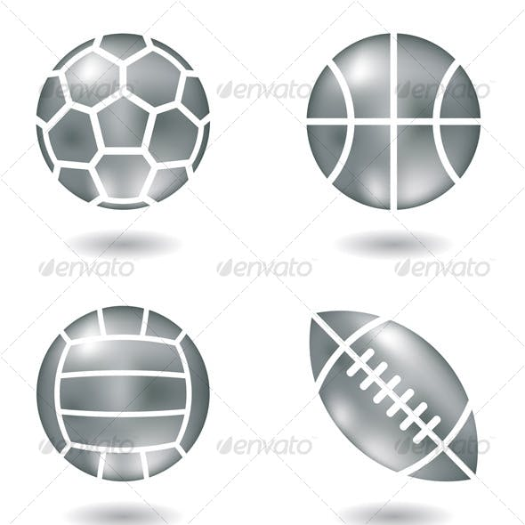 Metal Ball Icons