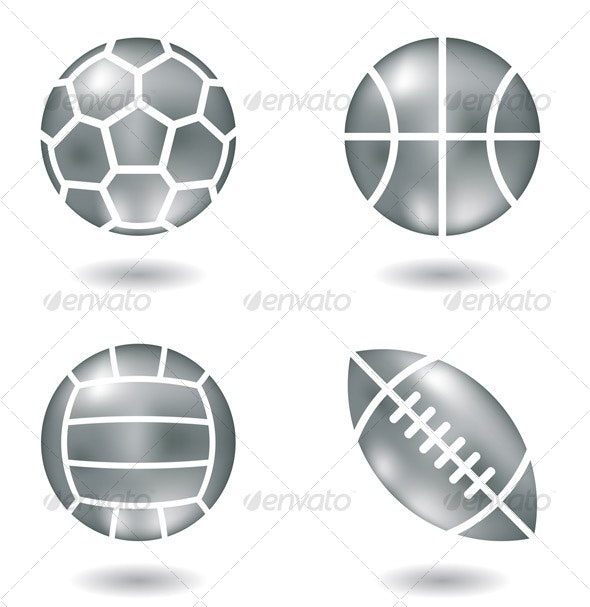 Metal Ball Icons - Objects Icons
