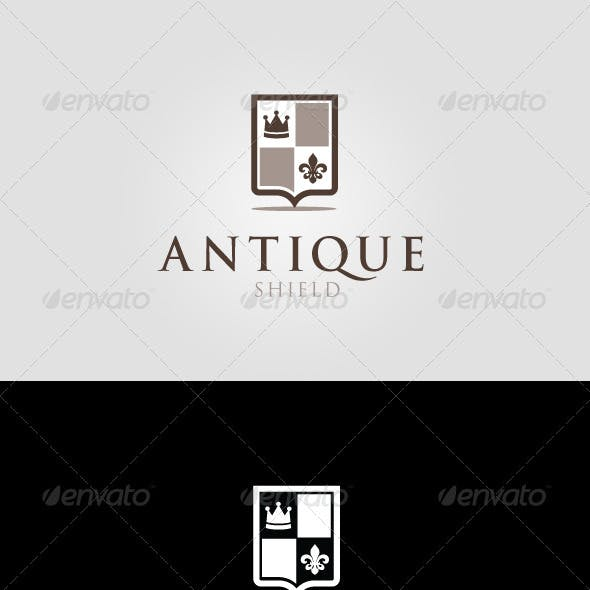 Antique Shield Logo Template