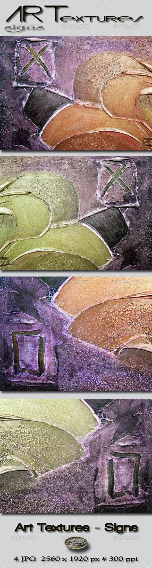 Art Textures - Signs - Art Textures