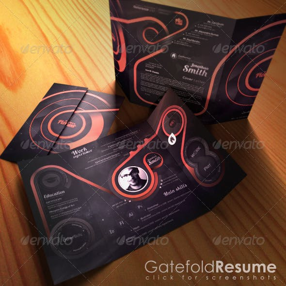 Gatefold Resume