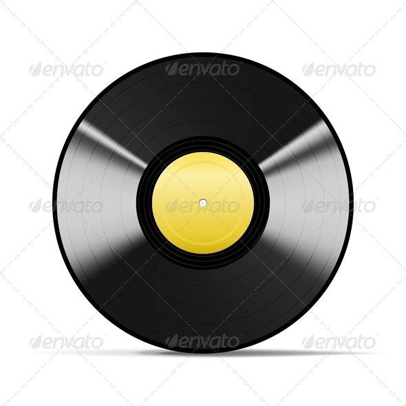 Black Vinyl - Man-made Objects Objects
