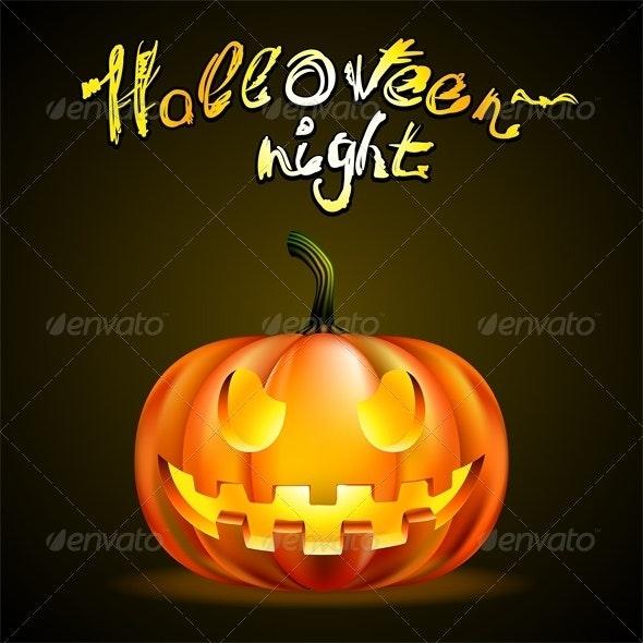 Halloween Background - Backgrounds Decorative