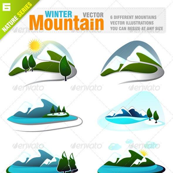 6 Winter Mountains
