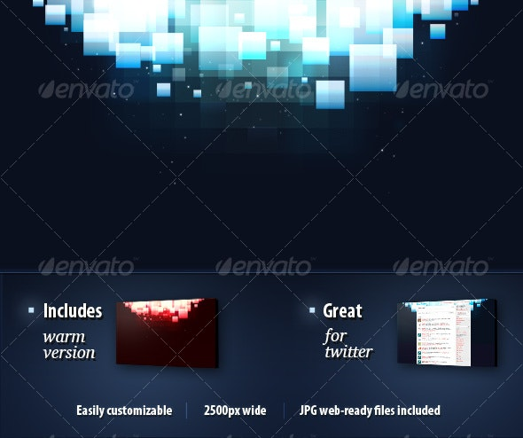 Blocks from Above - Backgrounds Graphics