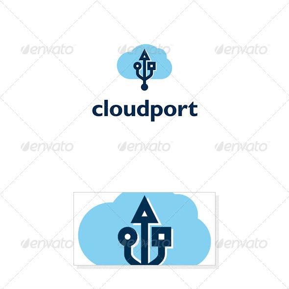 Cloud Port Logo Template