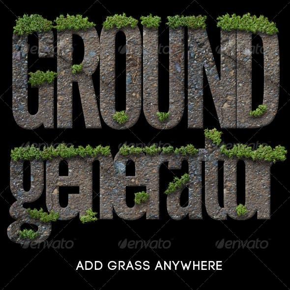 Photorealistic Grassy Ground Generator