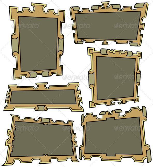Retro Banners - Decorative Vectors