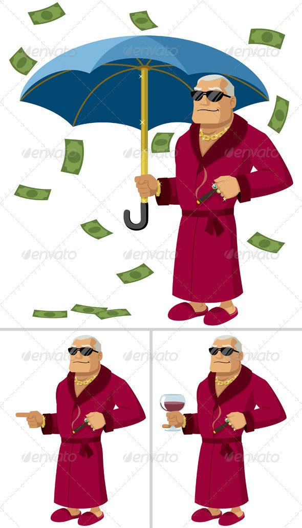 Rich Man - People Characters