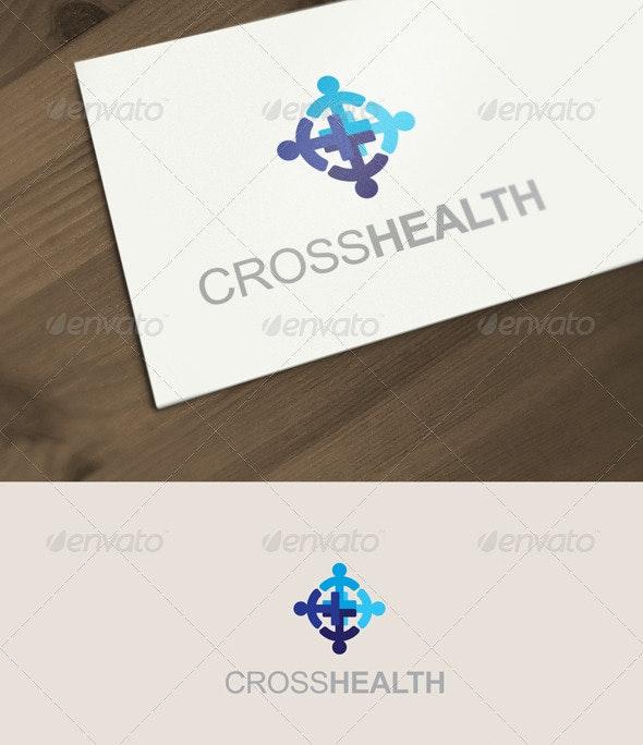 Cross Health Logo - Humans Logo Templates