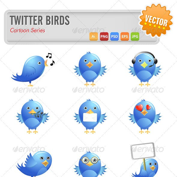 Tweet Birds Set