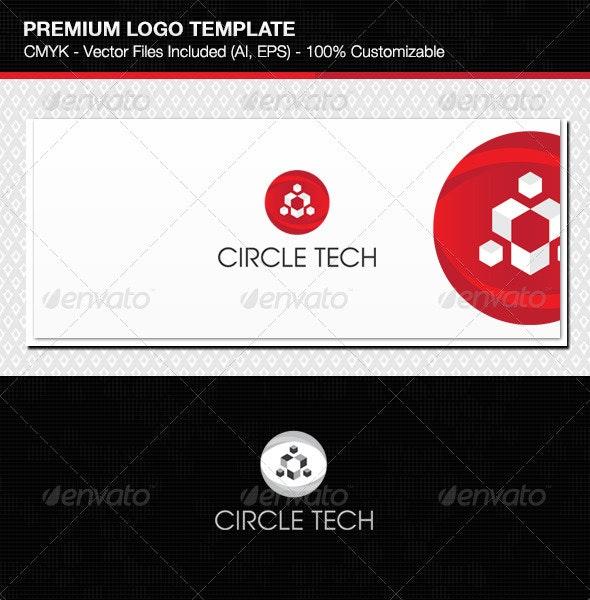 Creative Circle Technology Logo  - Symbols Logo Templates