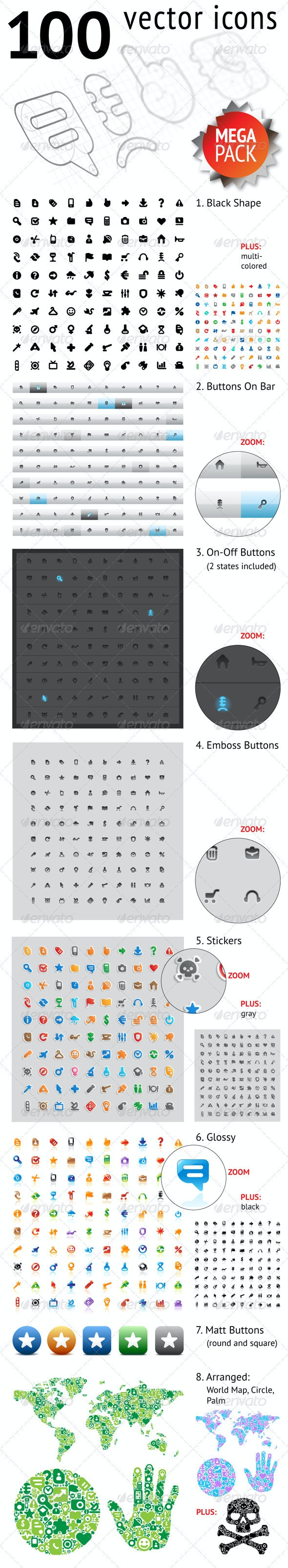 Web Icons Mega Pack - Web Icons