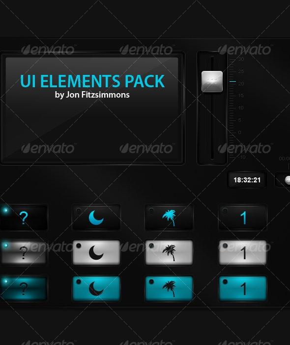 GUI Element Pack - User Interfaces Web Elements