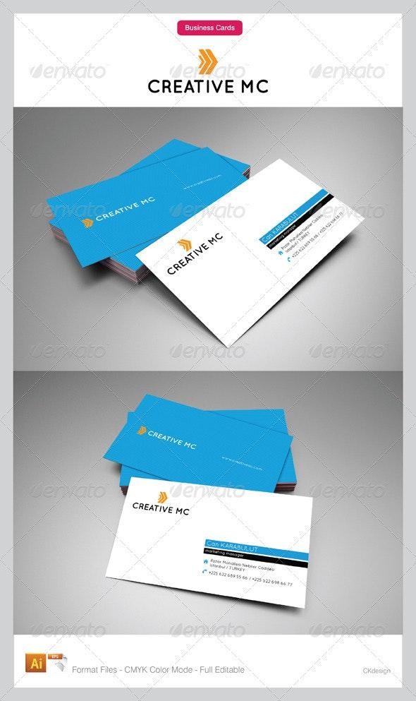 Corporate Business Cards 106 - Corporate Business Cards