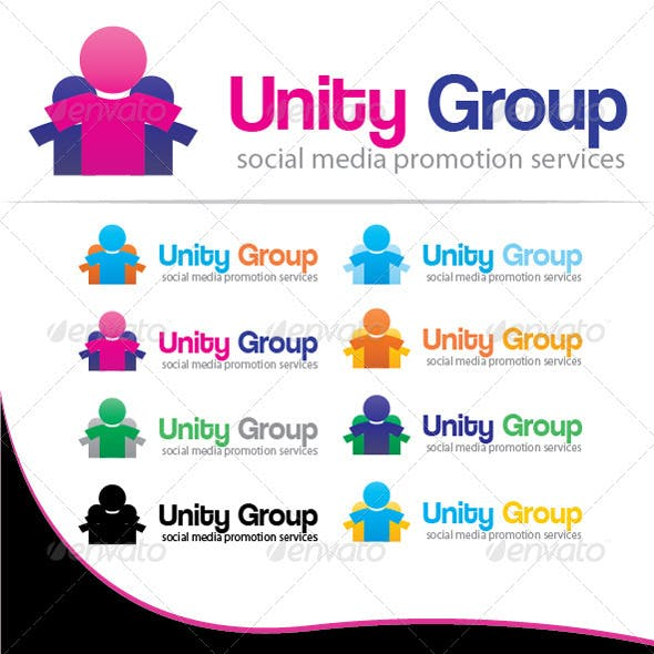 Unity Group Logo Template