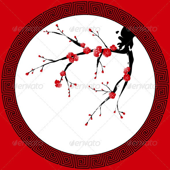 Chinese New Year Greeting Card - Miscellaneous Seasons/Holidays