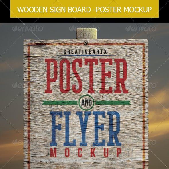 Poster Flyer Mockup
