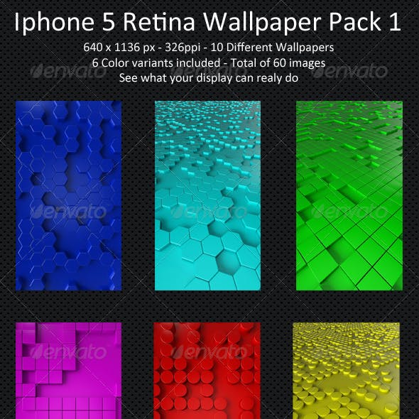 Iphone 5 Retina Wallpaper Pack 1
