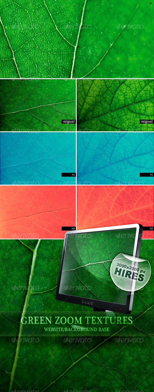 Green Zoom Textures - Nature Textures