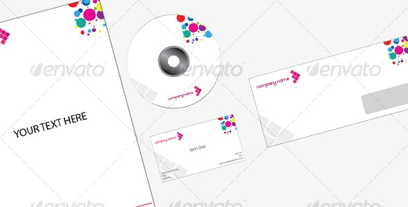 Clean vector corporate identity pack - Business Conceptual