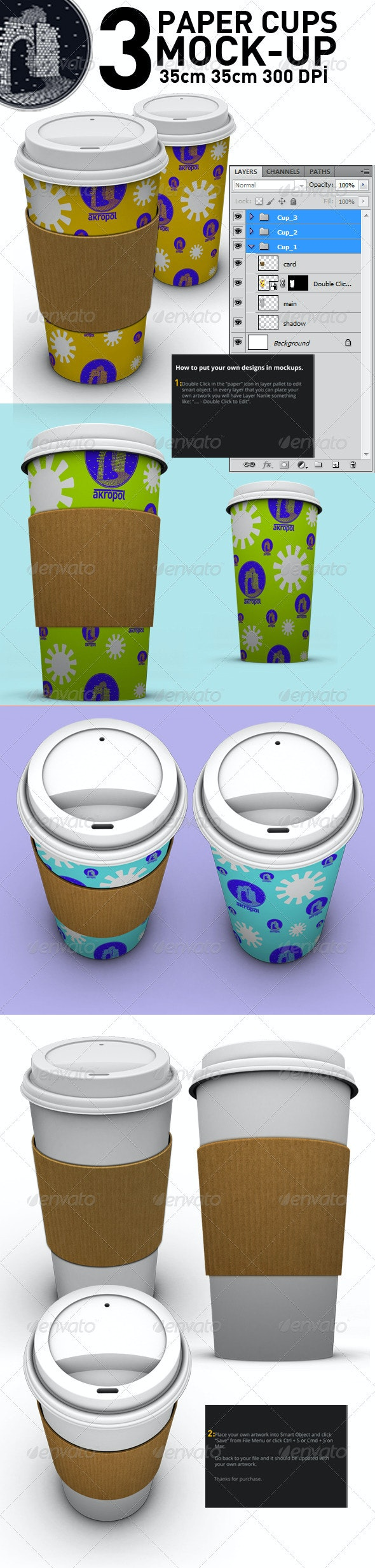 Paper Cups - Food and Drink Packaging