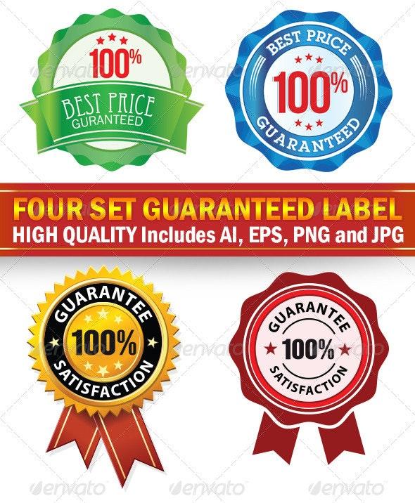 Guaranteed Labels - Vectors