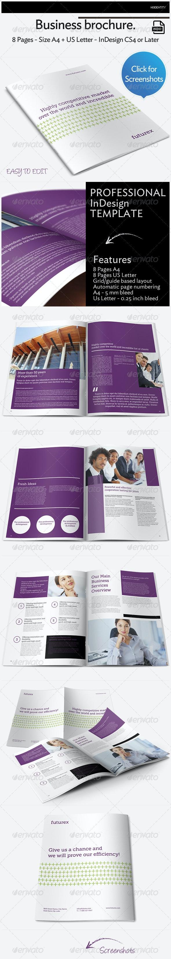 Futurex Business Brochure - Brochures Print Templates