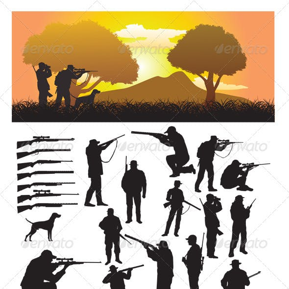 Hunter Silhouette