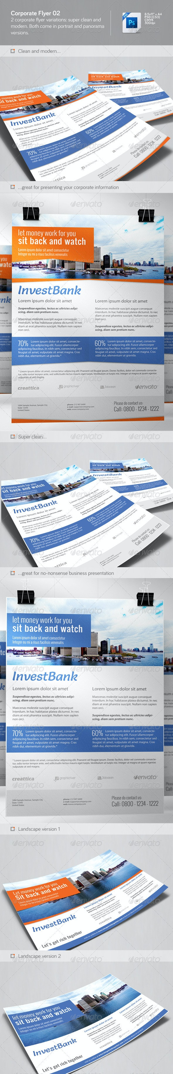 Corporate Flyer 02 - Corporate Flyers