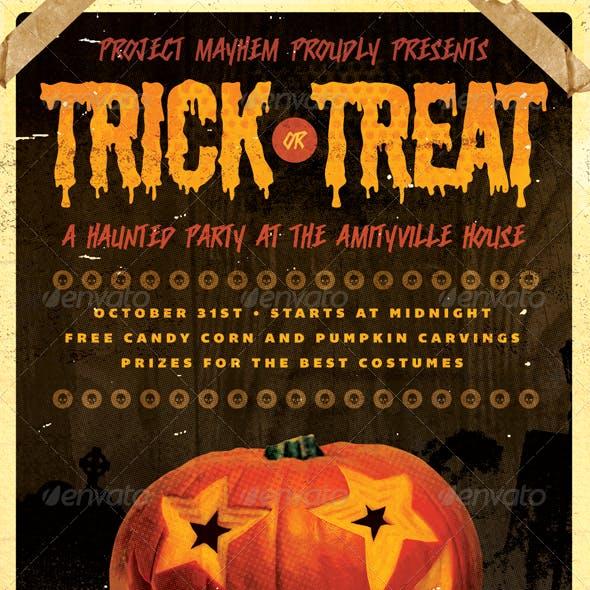 Tricked Treats - Halloween Flyer Template