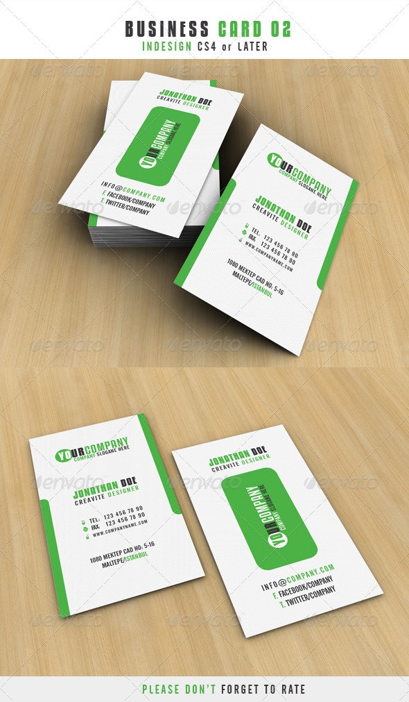 Business Card 02 - Corporate Business Cards