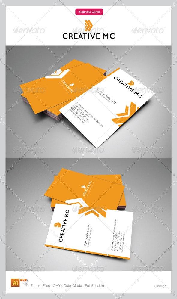 Corporate Business Cards 109 - Corporate Business Cards