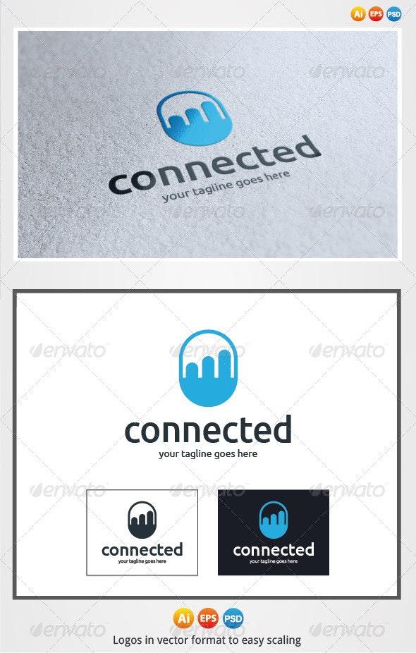 Connected Logo - Symbols Logo Templates