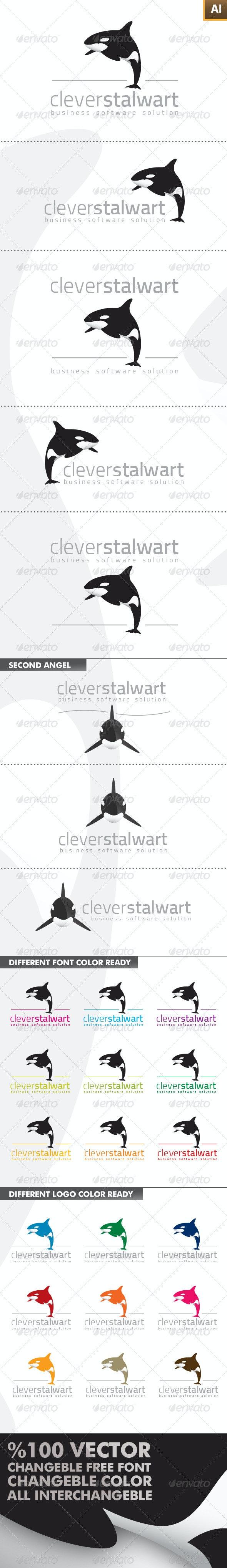 Clever Stalwart Logo - Animals Logo Templates