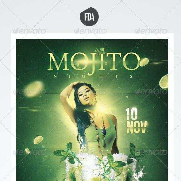 Mojito Nights Front + Back