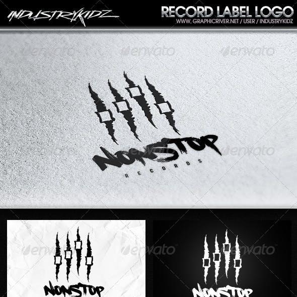 Audio Record Logo Template